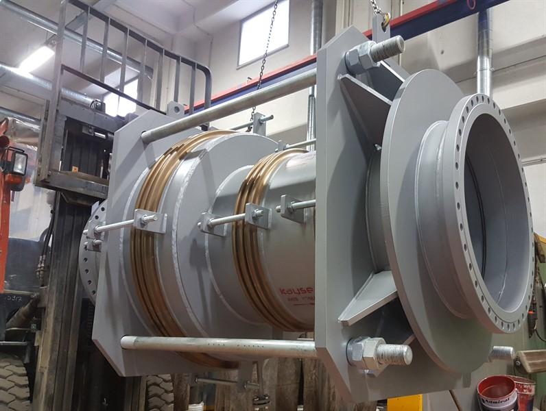 Basınç Dengeli Özel Metal Kompansatör