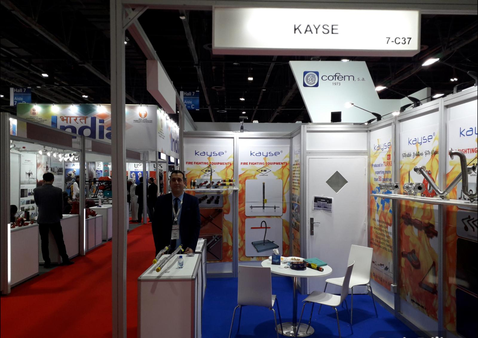 KAYSE Intersec Dubai 2019 Fuarında