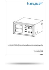 LS30 Kontrolör Montaj ve Kullanma Kılavuzu