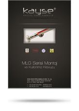 MLG Serisi Montaj ve Kullanma Kılavuzu