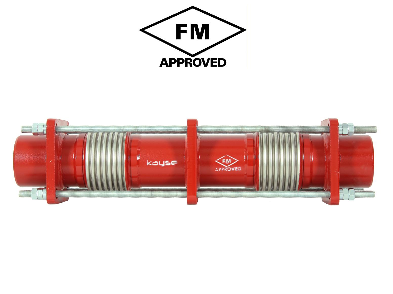 FM Onaylı Limit Rotlu Dilatasyon Kompansatörü - Kaynak Boyunlu